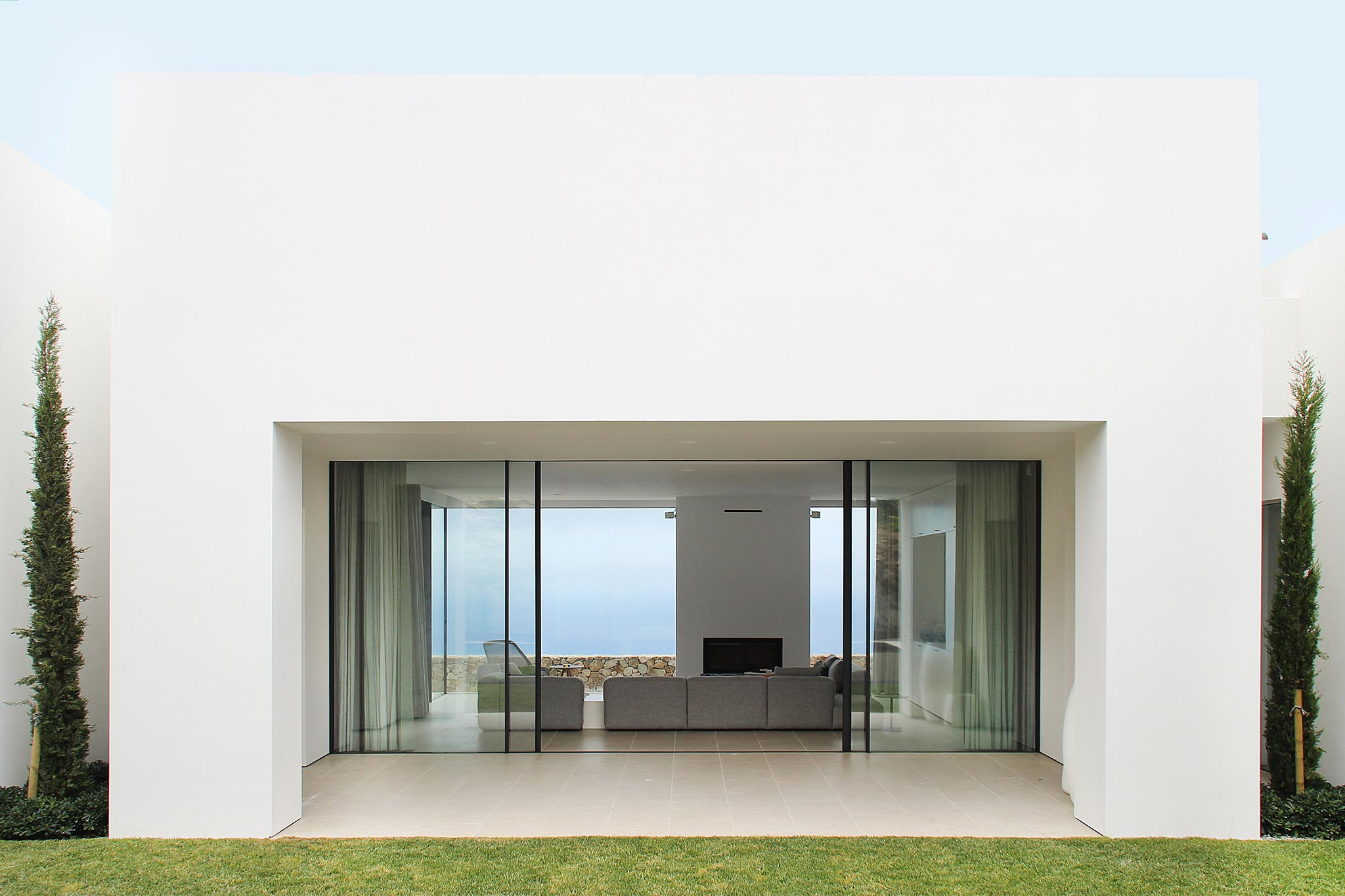 Casa unifamiliar Begur - Grabalosa arquitectura metàl·lica