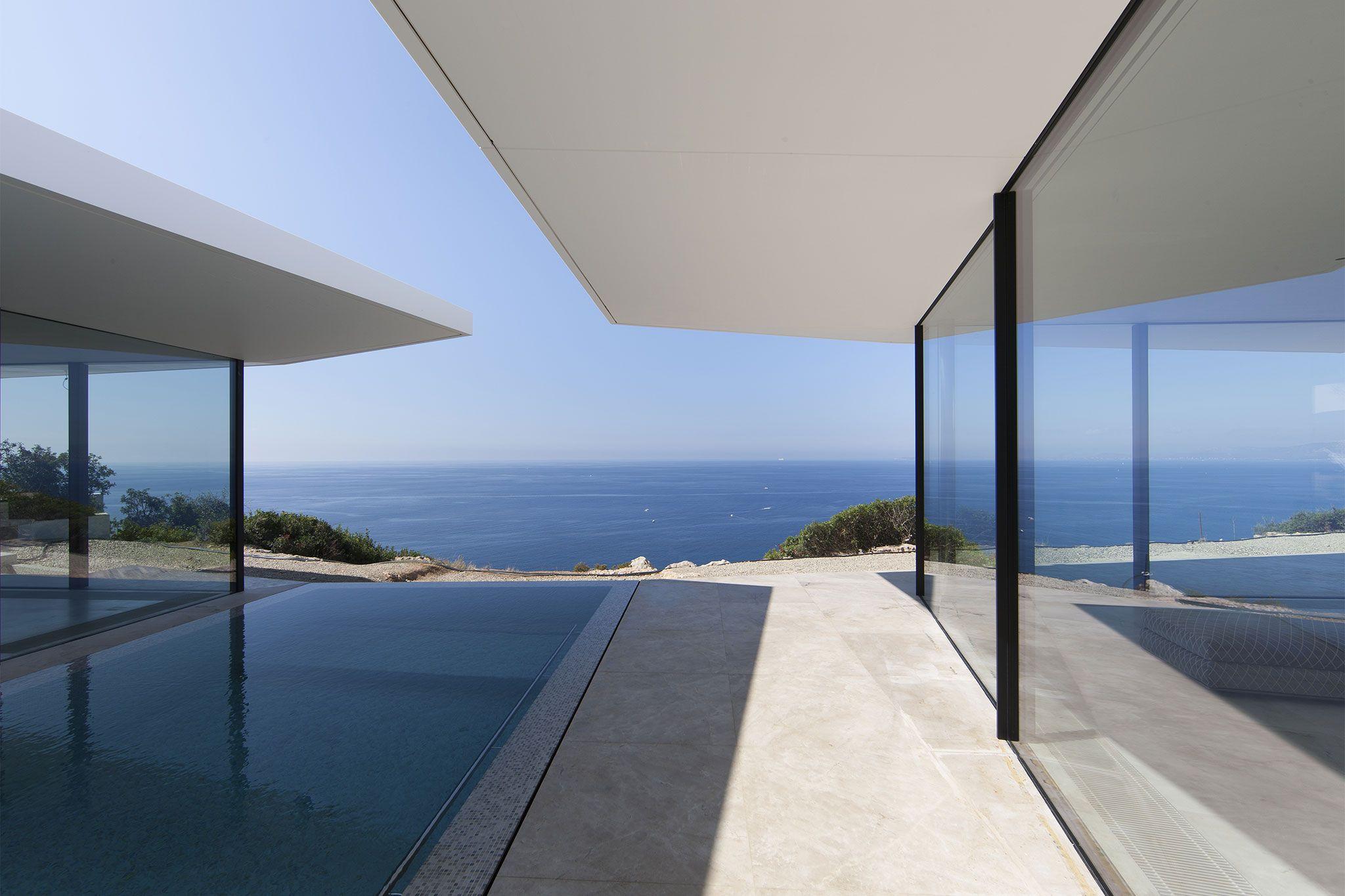 Casa unifamiliar Mallorca (Port d'Andratx) - Grabalosa arquitectura metàl·lica