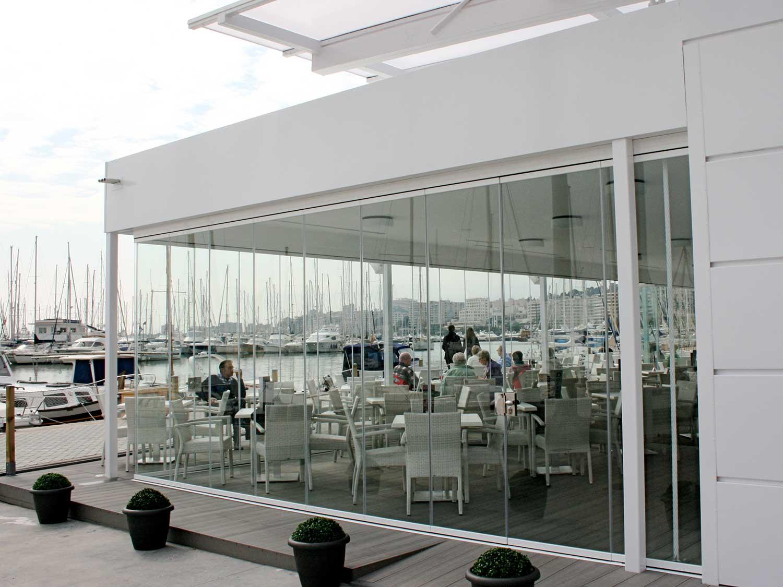 Tancaments de terrassa de vidre per hosteleria