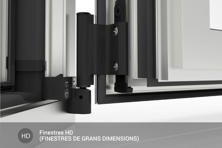 Ferratges HD (Finestres de grans dimensions)