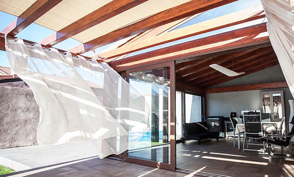 orientació de les finestres d'alumini