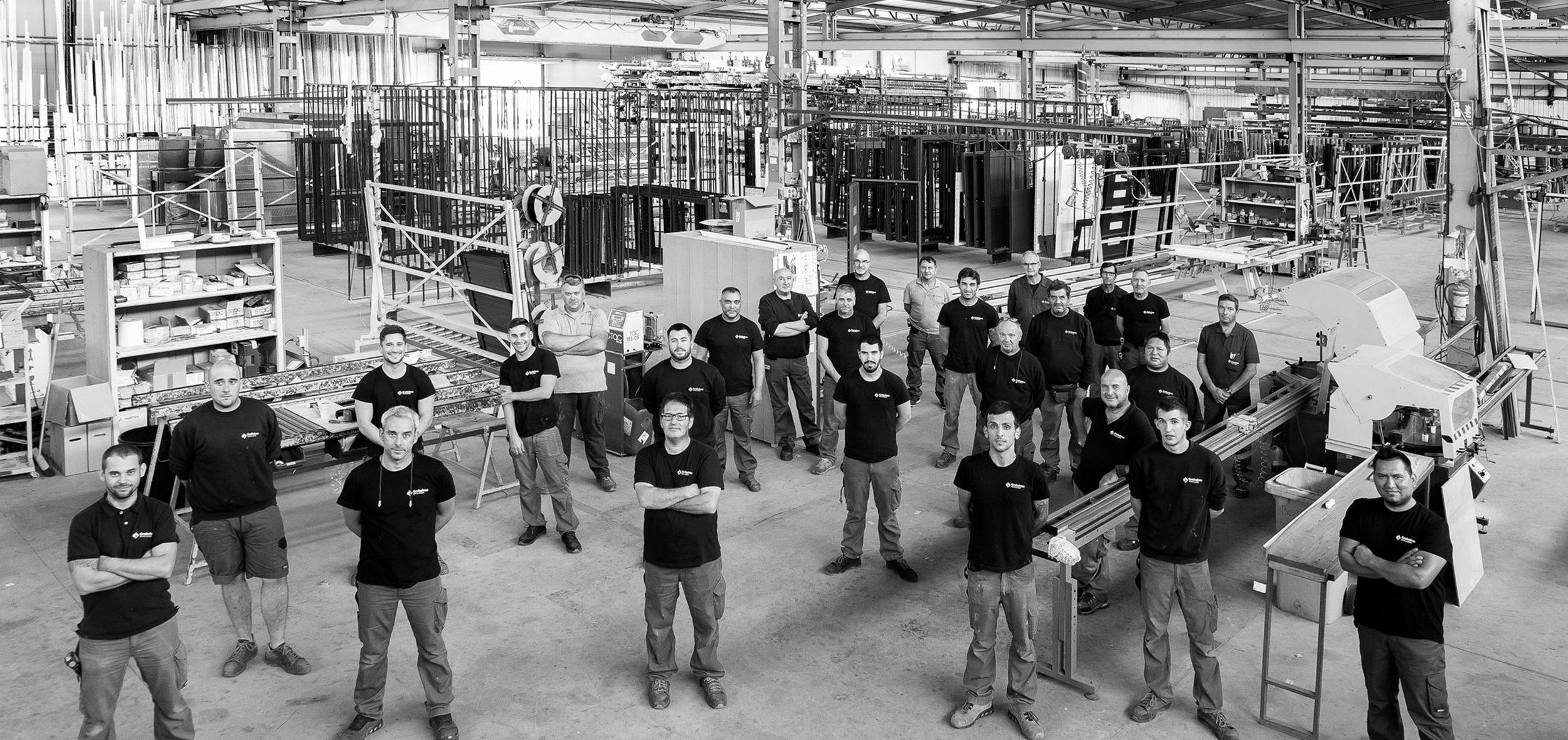 Empresa Grabalosa - Treballadors