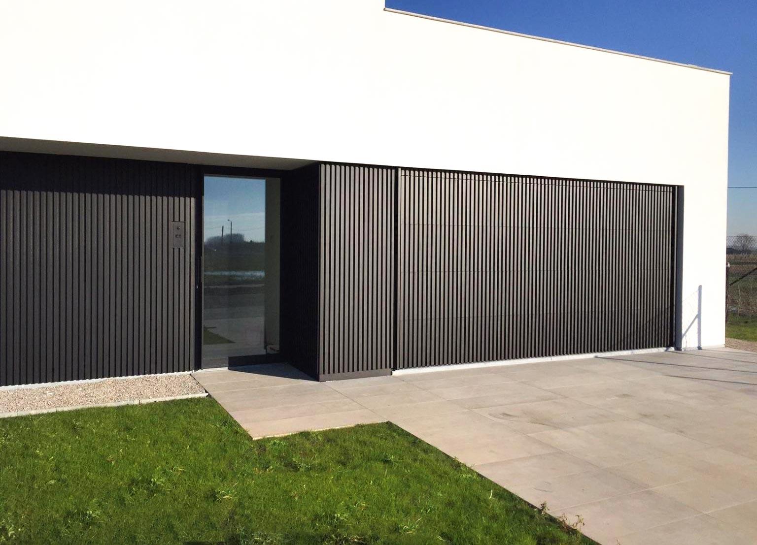 façana vivenda sistema lames